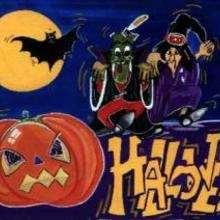 رسم ليلة هالويين