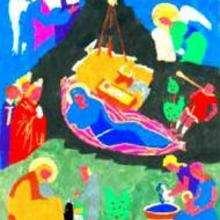 رسم ميلاد السيّد المسيح
