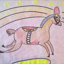 كيفيّة رسم حصان سيرك