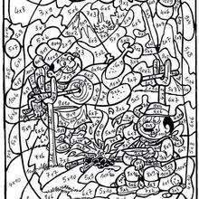 صفحة تلوين شوي اللّحم
