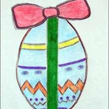 كيفيّة رسم بيضة عيد الفصح