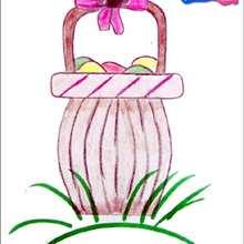 تعلّم كيفيّة رسم سلّة عيد الفصح