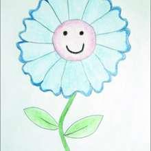 !كيفيّة رسم زهرة جميلة