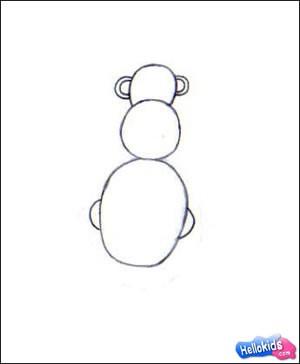 كيفيّة رسم قرد