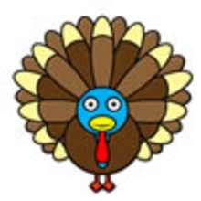 كيفيّة رسم ديك رومي في عيد الشّكر