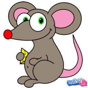 كيفيّة رسم فأر صغير