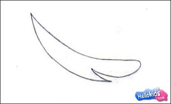 كيفيّة رسم سمكة قرش