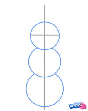 كيفيّة رسم رجل ثلج
