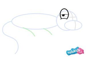 كيفيّة رسم سحليّة