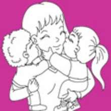 صفحات تلوين عيد الأم