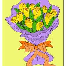باقة من الأزهار