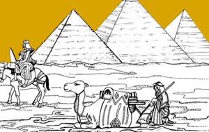 صفحات تلوين مصر