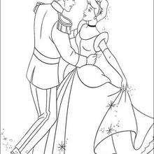 سندريلا ترقص مع الأمير الجذّاب