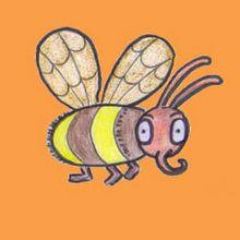 كيفيّة رسم نحلة