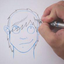 رسم تصفيفة الشعر: ايمو