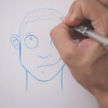 رسم الشعر: حلق