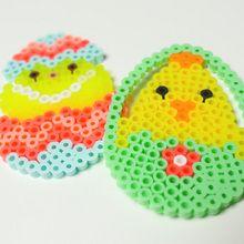بيض عيد الفصح الكي الخرز