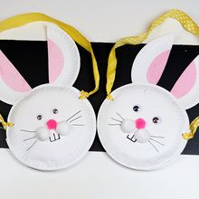 سلة عيد الفصح الأرنب