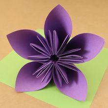 زهرة اوريغامي