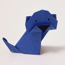 القط اوريغامي