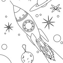 الفضاء صاروخ