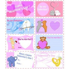 بطاقات بطاقة عيد الحب