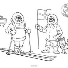 المستكشفين من القطب الشمالي